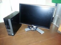 "SMALL FORM FACTOR DELL OPTIPLEX 3020 / 20"" SCREEN/ 4TH GEN CORE i3 / 4GB / 320GB"