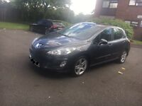 2007 Peugeot 308 1.6 Hdi 5 Doors hatchback, 11 months mot,2keys,immaculate condition