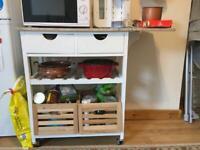 kitchen/dinning room storage trolley