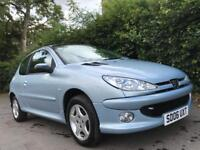PEUGEOT 206 1.4 ** LOW MILES** IDEAL 1ST CAR** 6 MONTHS FREE ROAD TAX**
