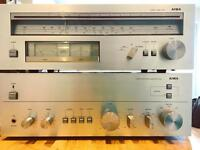 Aiwa 8100 Amplifier with matching 9300 Tuner