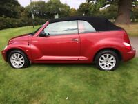 CHRYSLER PT CRUISER CABRIO..LIMITED EDITION (STUNNING ) VERY RARE with FSH LOW MILES