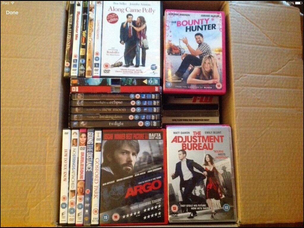 HUGE JOB LOT: Films DVD's & Box Sets - All GREAT films