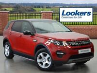Land Rover Discovery Sport TD4 SE TECH (red) 2015-11-07