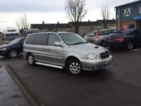 2006 KIA SEDONA FULL MPV-7 SEATER-2.9 DIESEL-LOW MIL. 62K-FULL YEAR MOT COMES WITH 3 MONTHS WARRANTY
