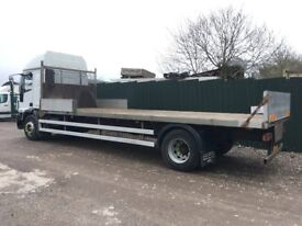 TRUCK SCAFFOLD FLAT BED BODY ( BODY ONLY ) 24 FOOT 6 INCHES LONG VERY GOOD CONDITION
