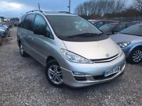 Toyota Previa 2.0 D-4D T Spirit 5dr (7 Seat), 2 FORMER KEEPERS. HPI CLEAR. FSH. CAMBELT CHANGED