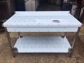 CANMAC Stainless Steel TABLE DCM 1600X700X850MM