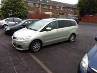 2008 Mazda 5 7 seater not til may 2019 £3,400 ono