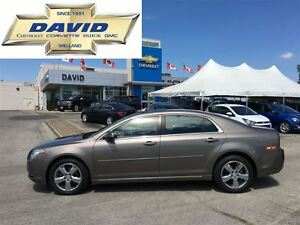 2011 Chevrolet Malibu 2LT Platinum, SUEDE, SUNROOF, LOCAL TRADE!