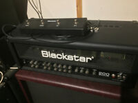 Blackstar Series One 200 valve guitar amp head + Footswitch