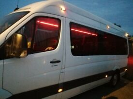 Mminibus hire with driver