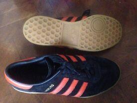 Adidas and Converse Trainers. Hamburgs 81/2, L.A. Black adidas 10, Adidas Bamba 9, Converse 10