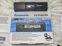 Panasonic Car Audio Cassettte Player/RDS Receiver with Panasonic Hologram Pick-up CD Changer