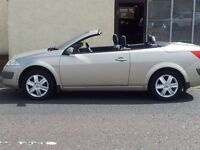05 renault megane dynamique vvt.115. 2 door convertible.petrol.manual.anti-lock brakes.