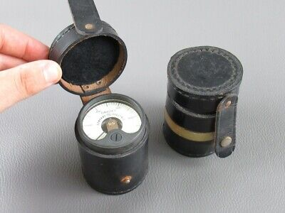 General Electric 2 Vecchissimi Gauges with Case Period Years' 40/50