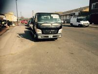 Mitsubisi Canter Fuso Flat bed truck for Sale. £6950.00