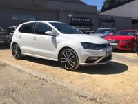 VOLKSWAGEN POLO 1.8 GTI DSG 5d AUTO 189 BHP (white) 2016
