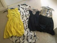 4 dresses size 10