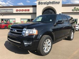 2017 Ford Expedition Max LIMITED l NAV l MOONROOF l HEATED SEATS