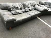 3 Seater Sofa and Chair (@07519500790)