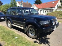 1997 TOYOTA LANDCRUISER AMAZON VX 80 SERIES 7 seater 4x4 bmw range rover