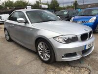 BMW 1 Series 2.0 120d M Sport 2dr FREE 1 YEAR WARRANTY, NEW MOT, FINANCE AVAILABLE, P/X WELCOME