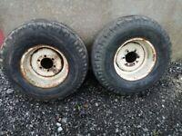 Massey ferguson lawn wheels 11.5 x 80 x 15.3
