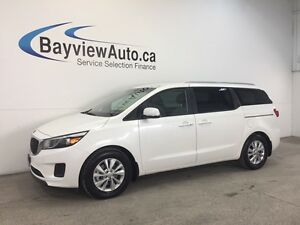 2016 Kia SEDONA LX- 3.3L! PWR SLIDERS! HEATED SEATS! REV CAM!