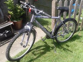 """Ladies Mountain Bike - 26"""", 18 gears, front and rear mudguards."""