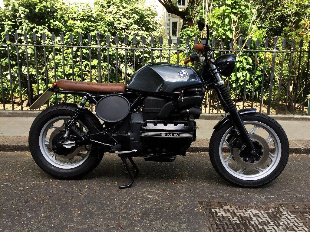 bmw k100 cafe racer brat custom motorcycle bmw k100 lt. Black Bedroom Furniture Sets. Home Design Ideas
