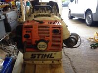 Sthil BR 380 backpack leaf blower 2007