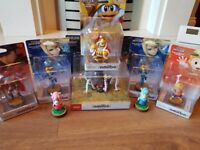 Various Amiibos (new and boxed)