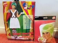 Womens Oompa loompa costume and wig brand new