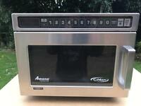 AMANA UHDCS142 COMMERCIAL HEAVY DUTY POWERFUL 1400 WATTS MiCROWAVE OWEN!!!