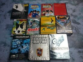 Collection of DVDs, Biking etc. and Parkour Book Bundle - COLLECTION ONLY!