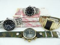 Vintage Rolex , Breitling , Omega , Jaeger , IWC ,Heuer watches Wanted
