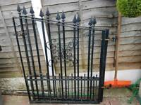 DOUBLE GATES SOLID & VERY HEAVY