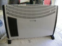 Electric Heater £10 each free standing heaters both Dual heat + timer and fan
