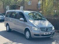 MERCEDES-BENZ VIANO 220 TE AMBIENTE LONG MPV 2.2 CDI DIESEL AUTO BLUE-EFFICIENCY *GREAT FAMILY CAR*