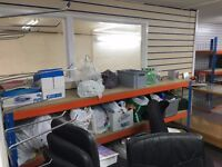 1000 sq ft office or shop rent