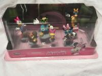 Disney store Minnie Mouse Figure Collection brand new in box