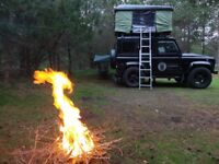 Defender 90 with Full Camping Option