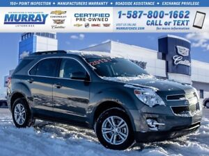 2013 Chevrolet Equinox 1LT**Low kms!  Leather Wrapped Steering W