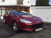 PEUGEOT 407 2.7tdi GT Coupe Auto LOVELY EXAMPLE / FANTASTIC SPEC / MOT FEB 17 / BEAUTIFUL CONDITION]
