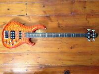 Crafter 4 String Bass with active pickups