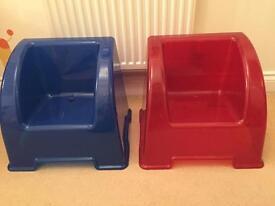 2 x kids Ikea chairs