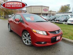 2012 Honda Civic SI-NAVI-CLEAN CARPROOF