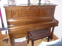 upright piano from smoke and pet free home
