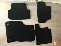 4 car floor mats for VW Golf MK7
